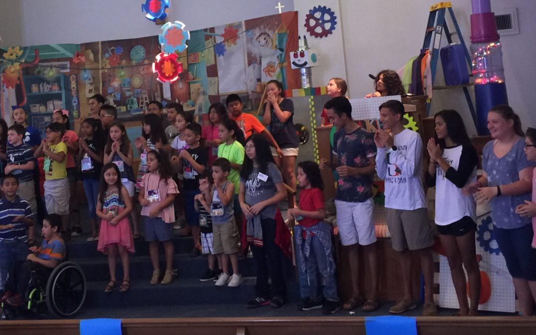 63 Children and Youth for Vacation Bible School 2017  Thank You to All